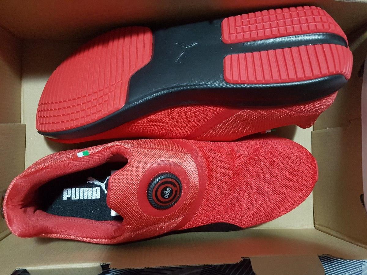 a5180ad59 tênis puma disc scuderia ferrari masculino vermelho original. Carregando  zoom.