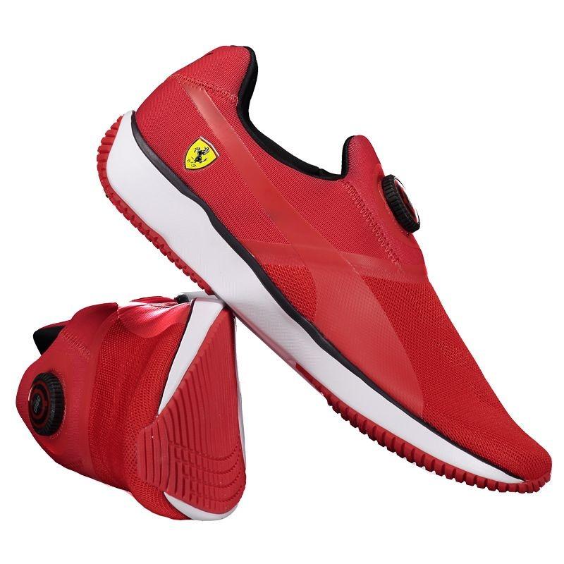 abf401cda tênis puma disc scuderia ferrari vermelho. Carregando zoom.