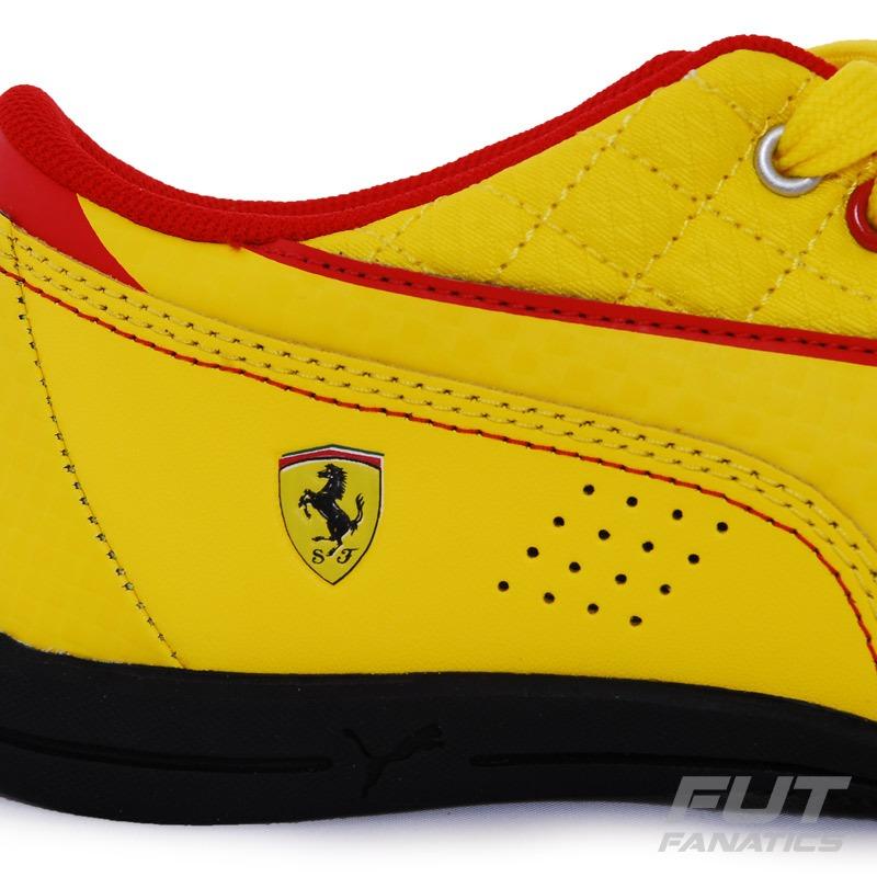 7d1c7b676ab2f Tênis Puma Drift Cat 6 L Scuderia Ferrari Amarelo - R$ 119,90 em ...