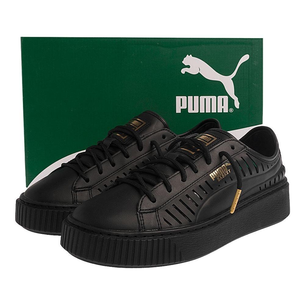 8c0e8250ea Tênis Puma Basket Platform Summer Feminino Creeper Rihanna - R  199 ...