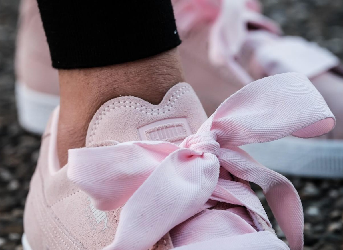 74703dee943ef Carregando zoom... puma feminino tênis. Carregando zoom... tênis puma suede  heart valentine rosa fat lace feminino