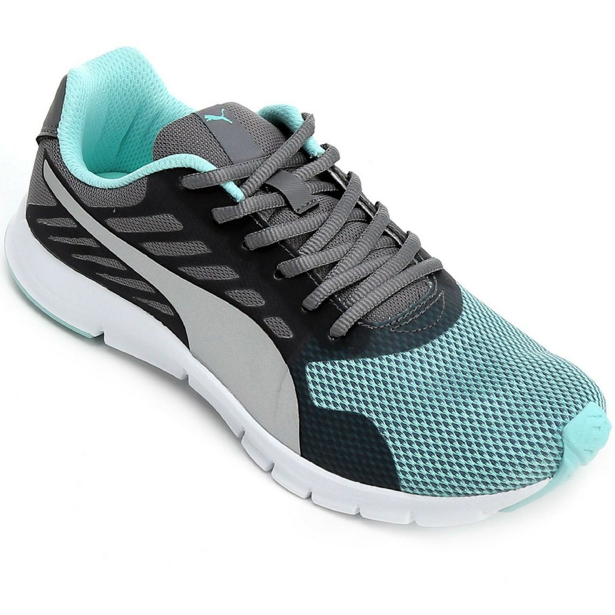 9cdefde1d2610 tênis puma feminino flexracer d bdp - azul claro/cinza. Carregando zoom.