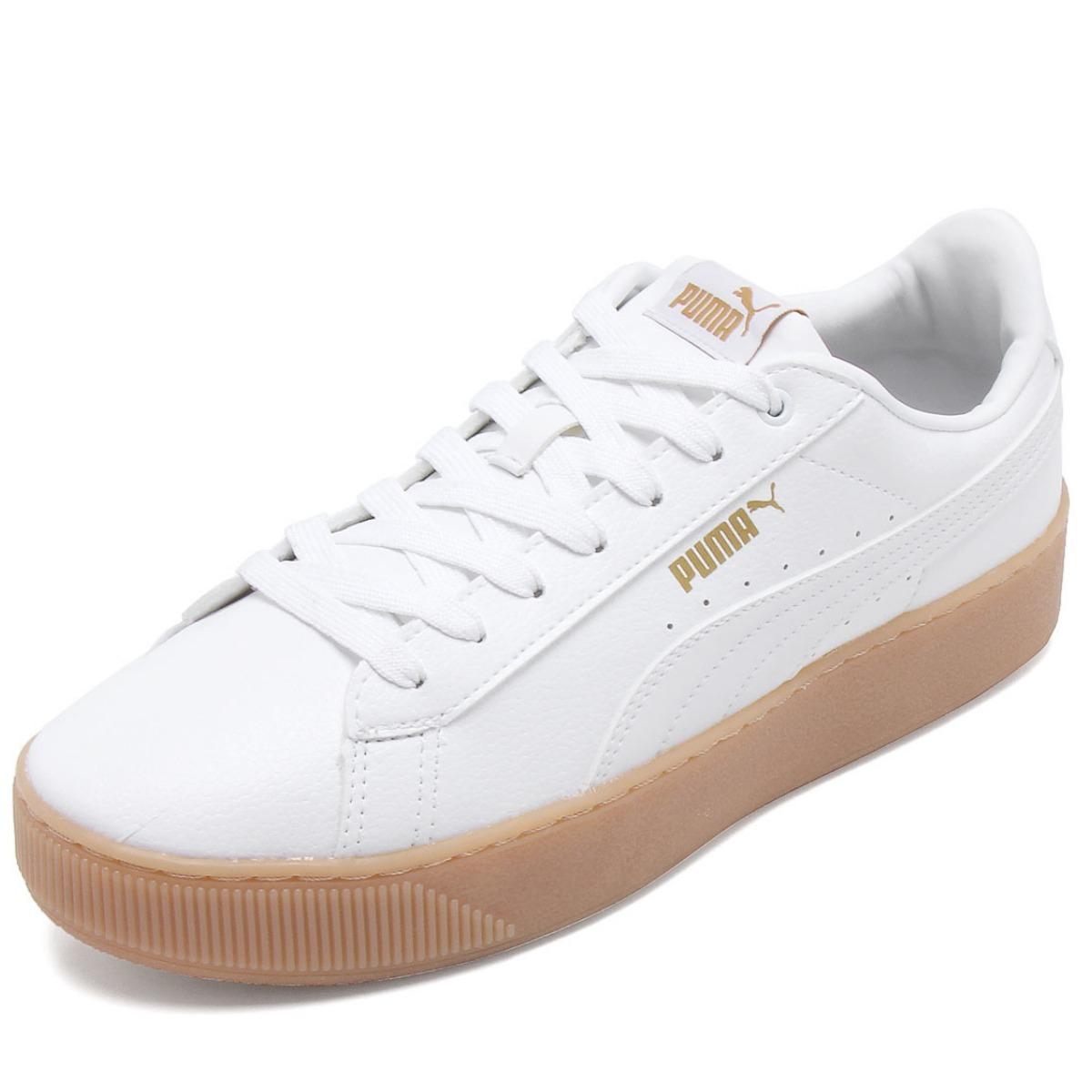 cb4803cf025 tênis puma feminino vikky platform vt bdp - branco. Carregando zoom.