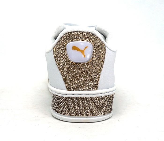 15a3870246e Tênis Puma Fenty By Rihanna Branco Com Glitter Dourado - R  200
