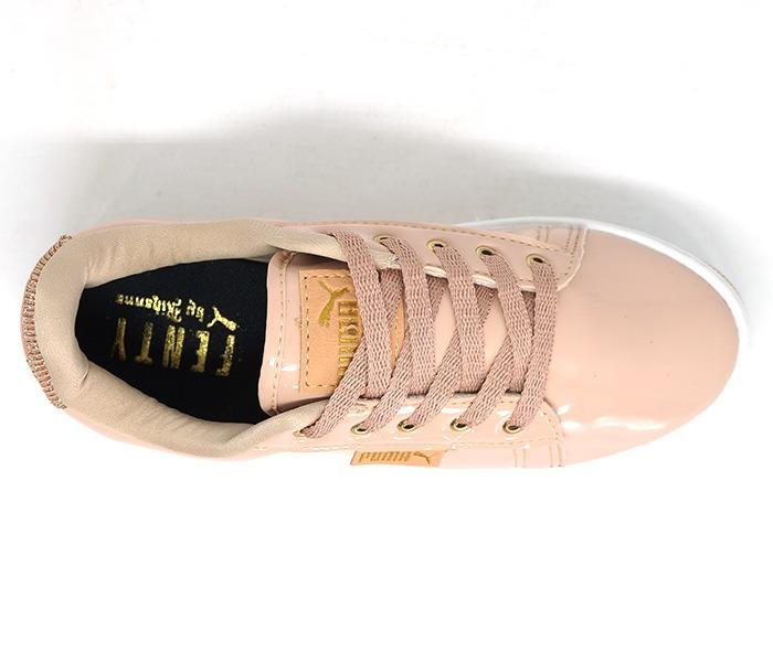 cb3d8514b Tênis Puma Fenty By Rihanna Rose Verniz Com Glitter - R$ 200,00 em ...