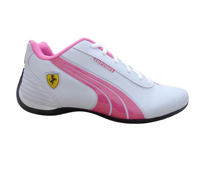 4e7b50f7fa635 Tênis Puma Ferrari Drift Feminino Branco/rosa - R$ 84,90 em Mercado ...