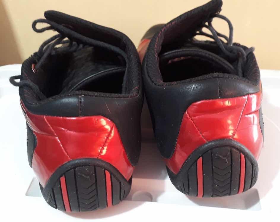 a61b4f2a25c tênis puma ferrari vermelho e preto - 42. Carregando zoom.