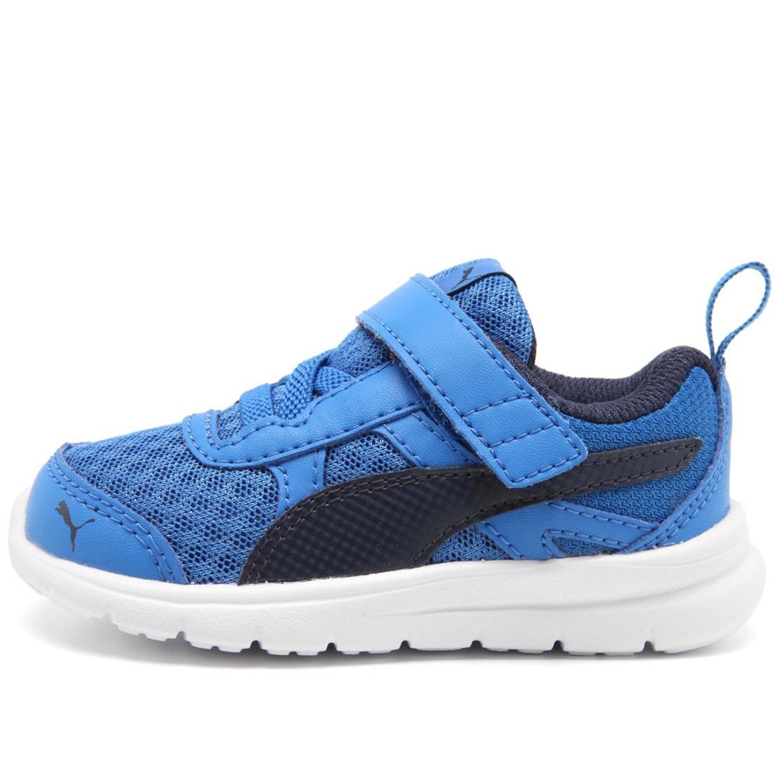ffaa7622e3f tênis puma flex essential azul masculino infantil. Carregando zoom.