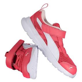 1df65b2613 Tênis Puma Flex Essential V Infantil Feminino Rosa