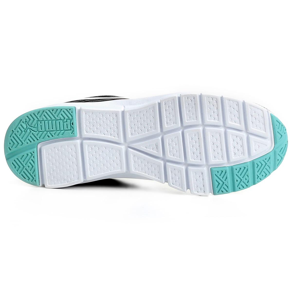 d0f8d7c8963 tênis puma flexracer d verde preto prata feminino. Carregando zoom.