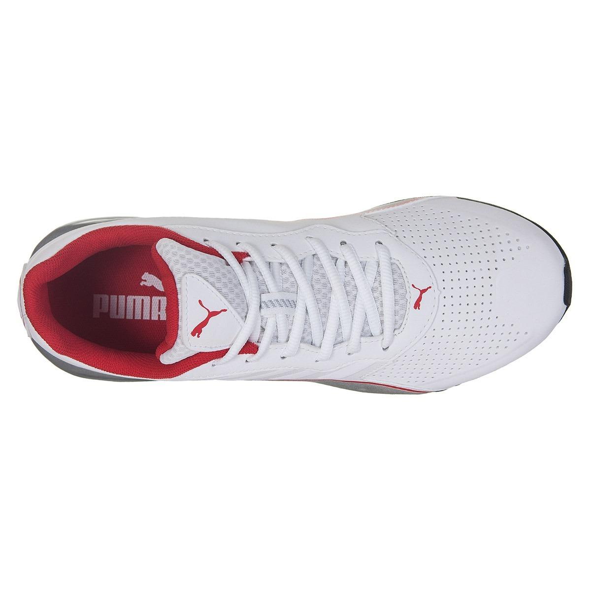 tênis puma flume sl masculino - branco vermelho. Carregando zoom. b192190597a79