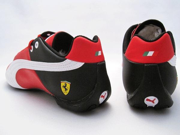1de518567f3 Tênis Puma Future Cat Ferrari Vermelho Preto Feminino - R  229