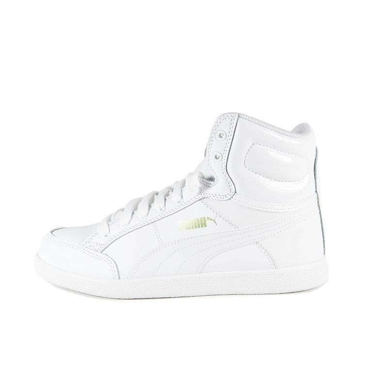 tênis puma ikaz mid classic-branco. Carregando zoom. 7a3915644f8a2