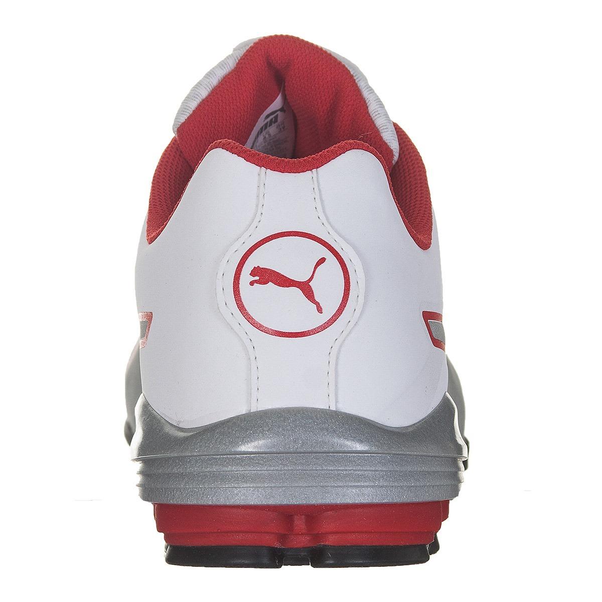 tênis puma flume sl masculino - branco vermelho. Carregando zoom... tênis  puma masculino. Carregando zoom. 71ab6865f5148