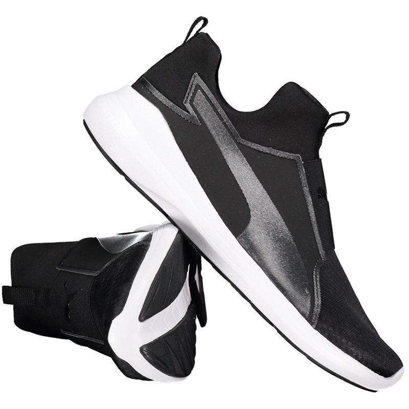 fa33264fe8c tênis puma rebel mid feminino preto e branco. Carregando zoom.