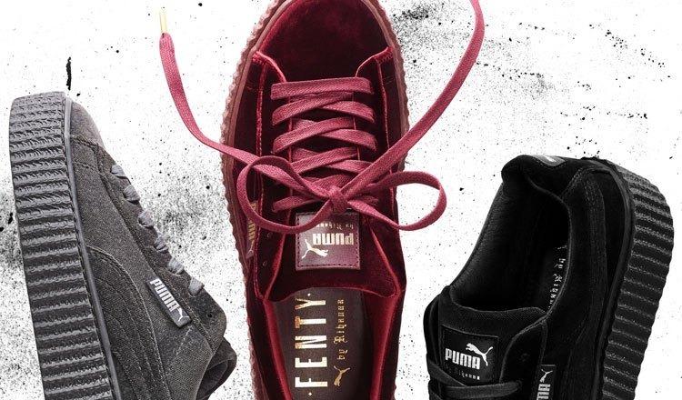 7ad9970eef6 Tênis Puma Rihanna Fenty 100% Original Camurça Frete Grátis - R  229 ...