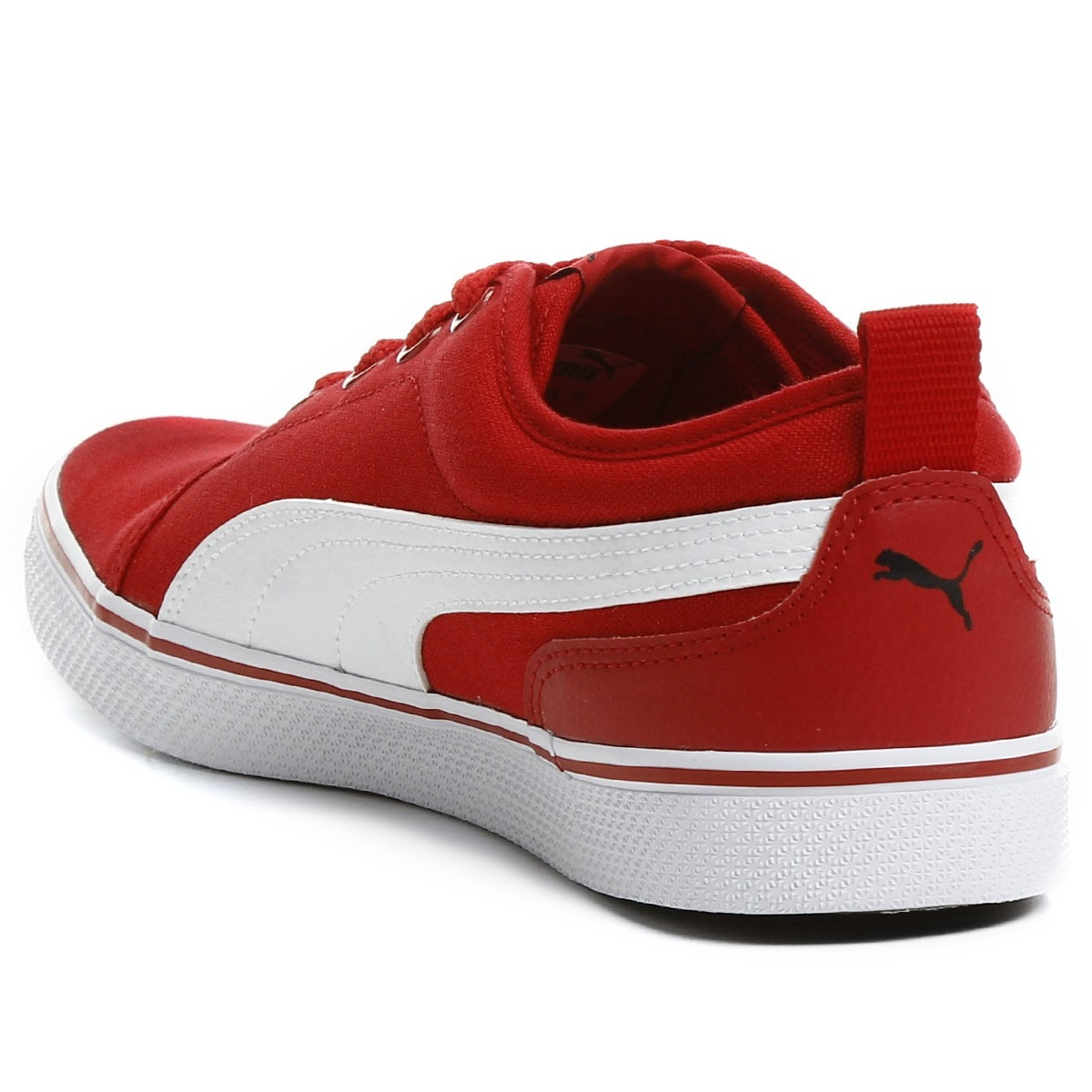 72e66cafc92 Tênis Puma S Street Vulc Cv 43 Vermelho Skate Casual - R  109