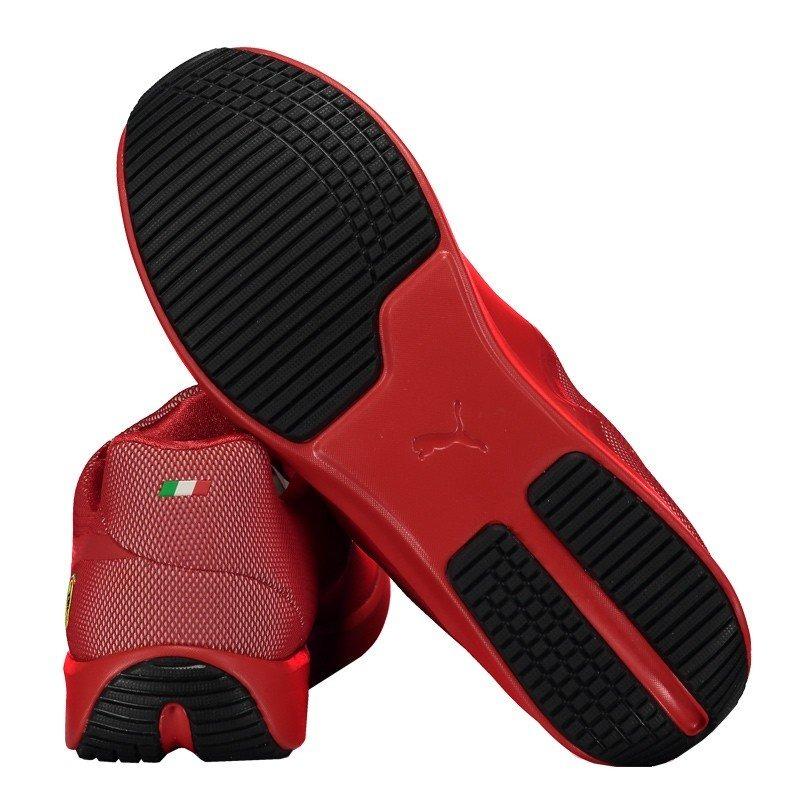 4919d6fca tênis puma scuderia ferrari disc vermelho. Carregando zoom.