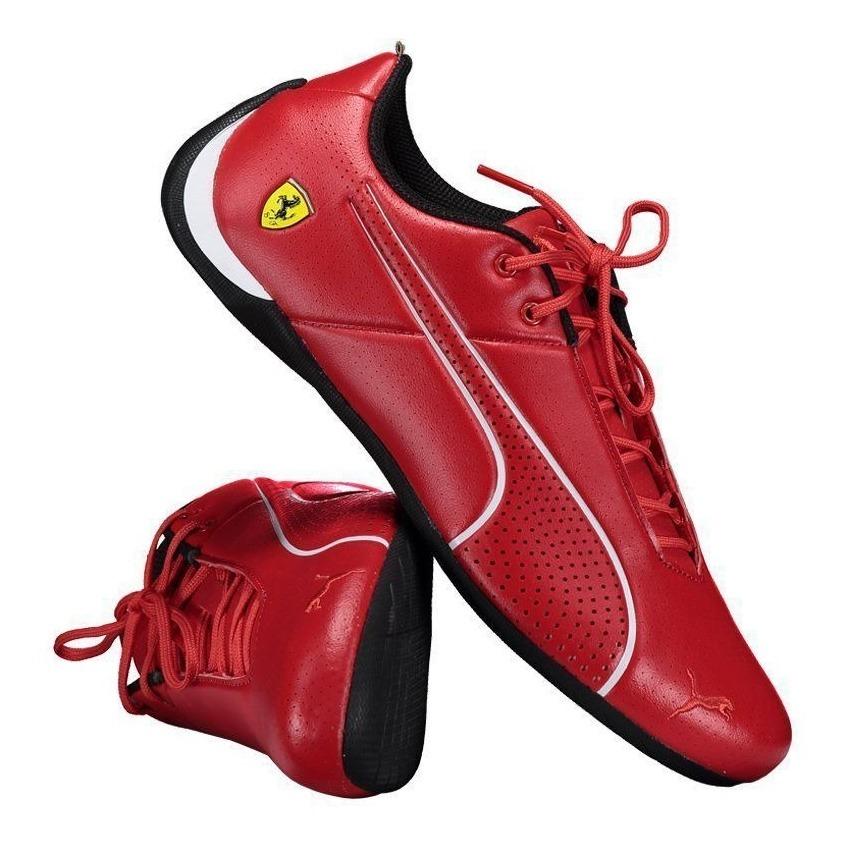 d1cce91eb8 Tênis Puma Scuderia Ferrari Future Cat Ultra Vermelho