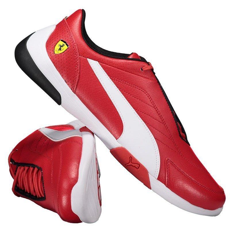 tênis puma scuderia ferrari kart cat iii vermelho. Carregando zoom. 2213a268f0cb3
