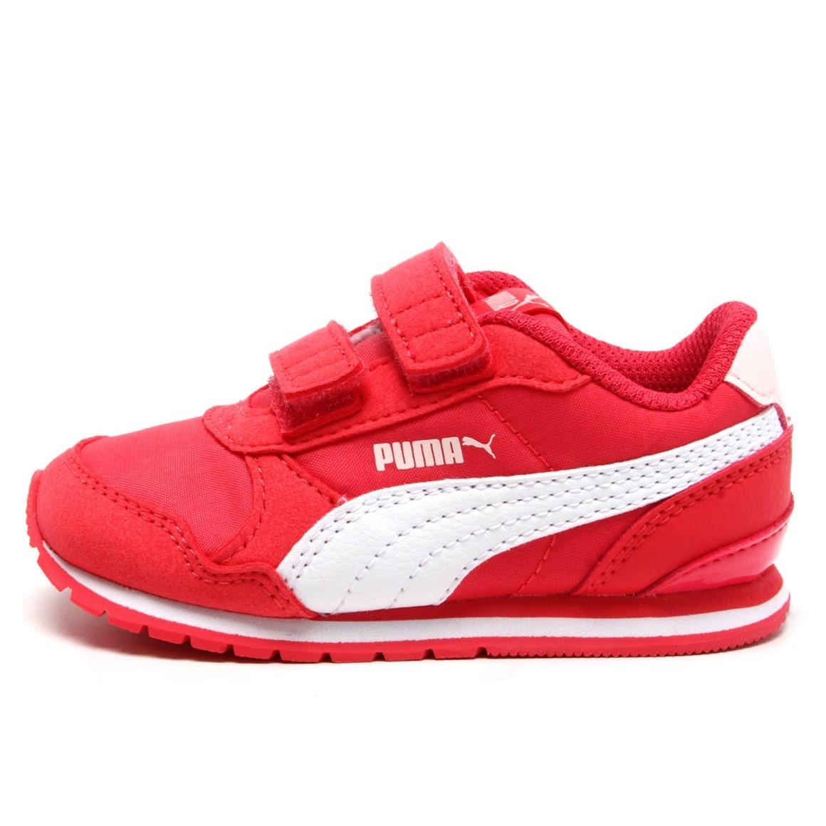 82abc57334aae tênis puma st runner v2 nl pink branco feminino infantil. Carregando zoom.