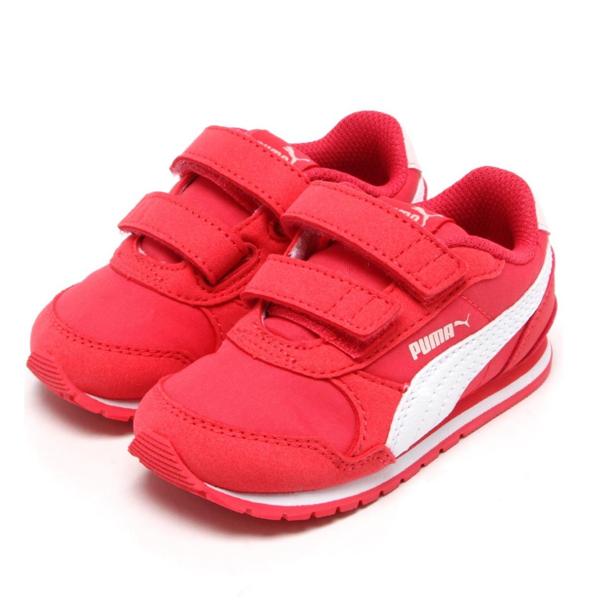 154177928 tênis puma st runner v2 nl v pink branco feminino infantil. Carregando zoom.
