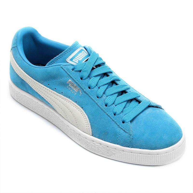 tênis puma suede classic azul masculino original. Carregando zoom. 4f491c0c3070b