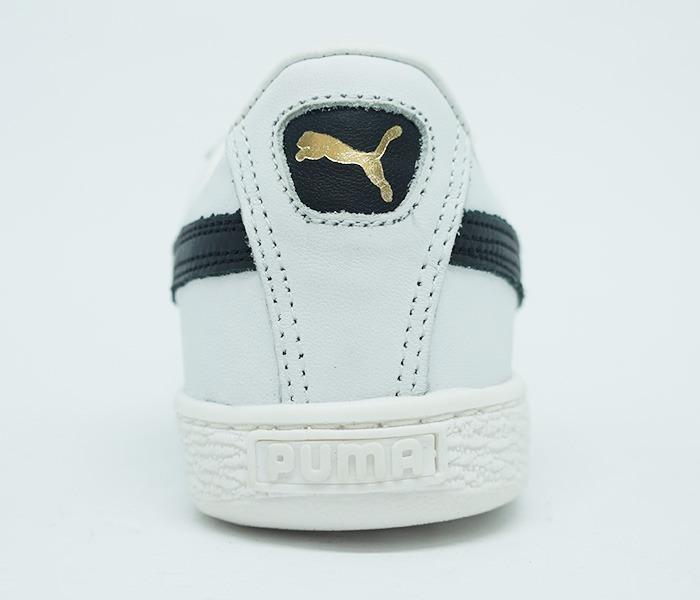 Tênis Puma Suede Classic Couro Branco - R  199 9084558bb906e