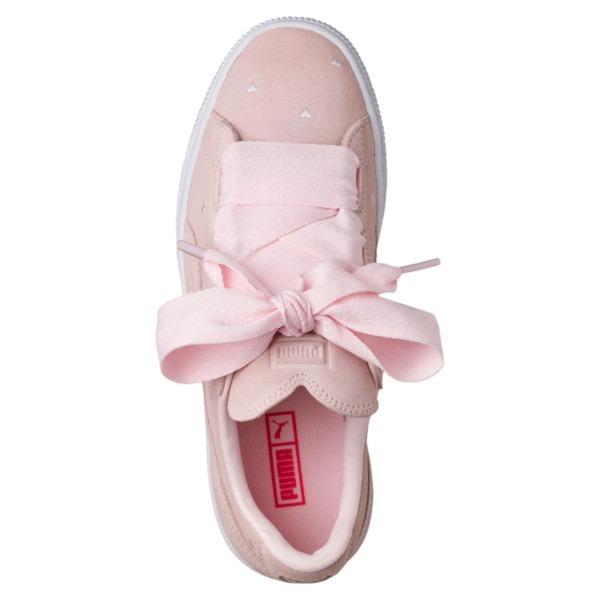 2c5cc83d23a12 Tênis Puma Suede Heart Valentine Rosa Fat Lace Feminino - R$ 199,00 ...
