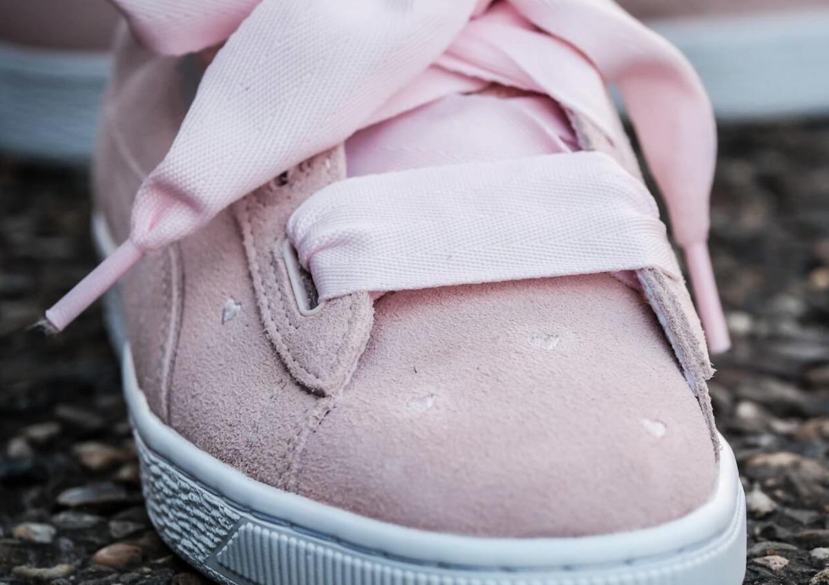 8d1987e08ebd8 tênis puma suede heart valentine rosa fat lace feminino. Carregando zoom.