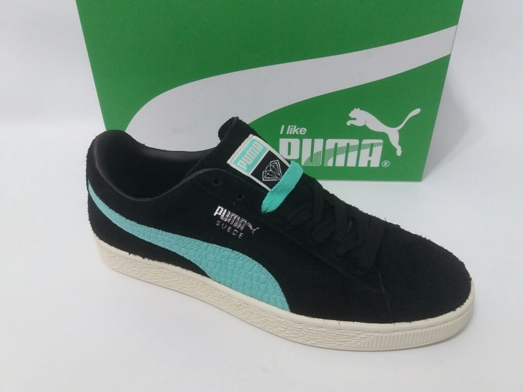 the latest 2de9c b43e6 Tênis Puma X Diamond Suede Preto Original