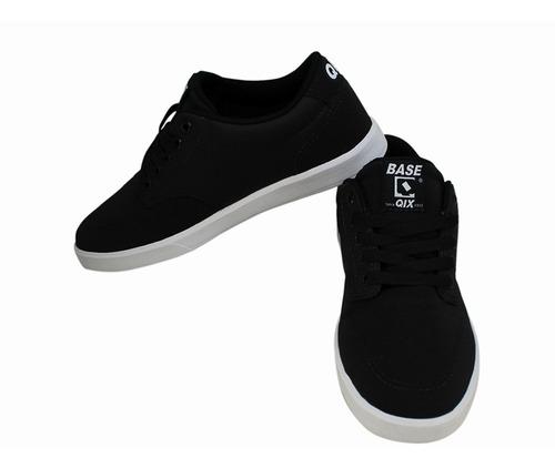 tênis qix base preto e branco original a pronta entrega novo