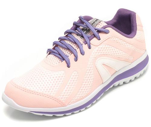 tênis rainha fly rosa super confortável