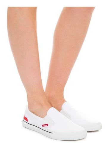 tênis rainha iate branco original