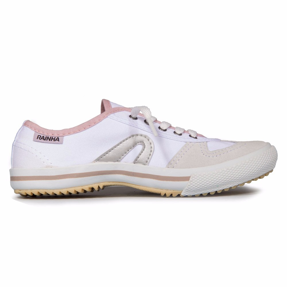 tênis rainha vl 2500 lady branco rosa. Carregando zoom. 49d9e908b123d