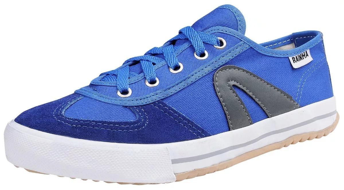 3fc6c9396b8 tênis rainha vôlei vl 2500 futsal capoeira azul royal. Carregando zoom.