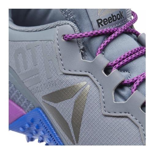 tênis reebok all terrain craze feminino cinza e roxo