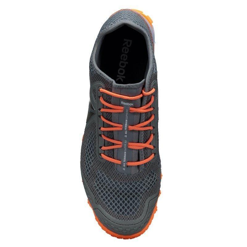 830aa2aeaf7 tênis reebok all terrain super 3.0 cinza e laranja. Carregando zoom.