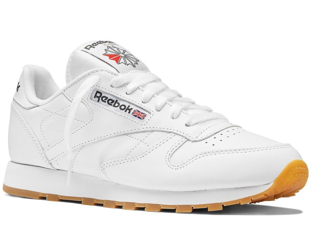 120314ad0a24a Tênis Reebok Classic Leather Wthite Gum