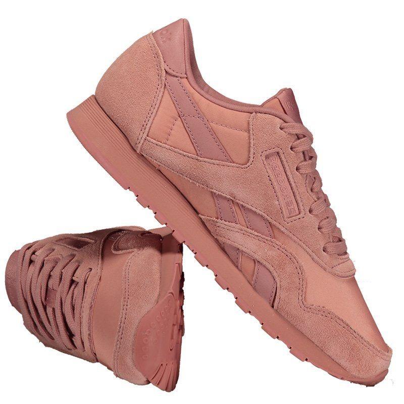 a93463bfb tênis reebok classic nylon feminino rosa. Carregando zoom.