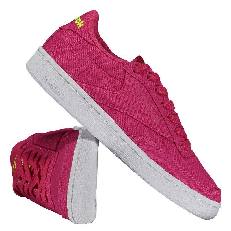 f7a0eb23afe tênis reebok club c 85 eh feminino rosa. Carregando zoom.
