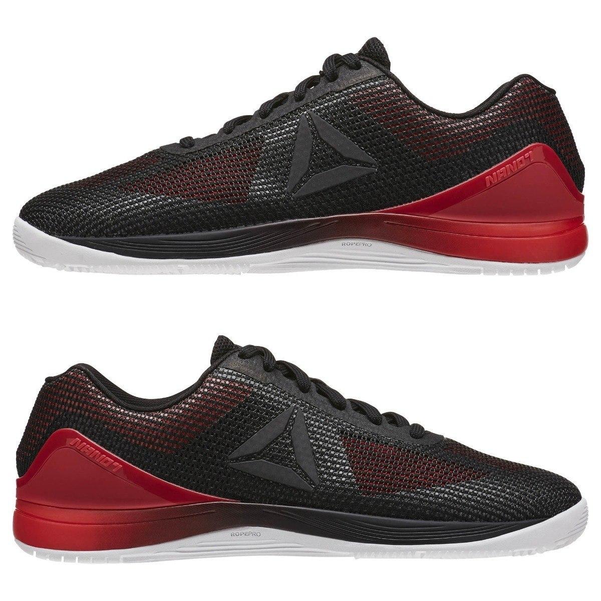 b35a03d2d40 tênis reebok crossfit nano 7 7.0 b preto vermelho. Carregando zoom.