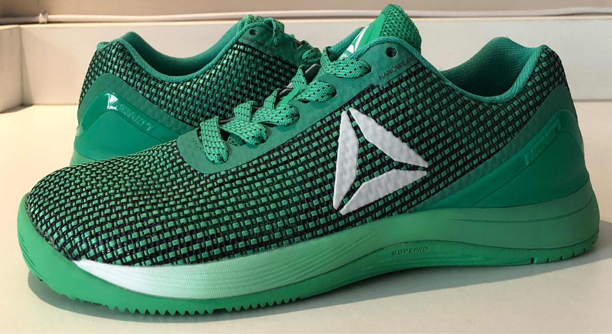 7ebef5adcb4 tênis reebok crossfit nano 7 feminino verde tam 8 usa  38 br. Carregando  zoom.