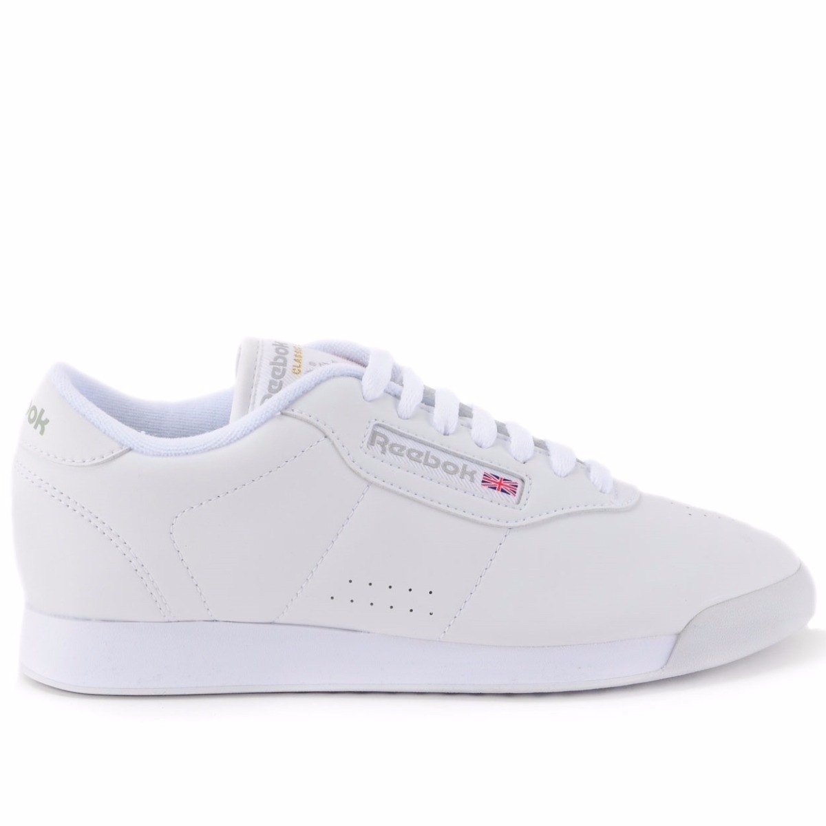 154a0ad4589 tênis reebok princess white low classic sneaker retro branco. Carregando  zoom.