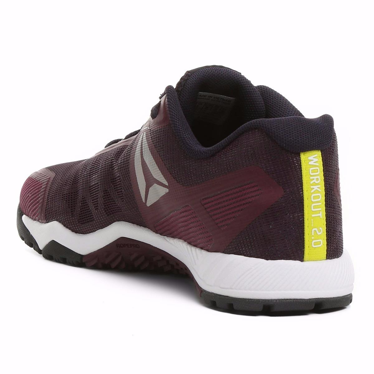 tênis reebok ros workout tr 2.0 feminino crossfit nano vinho. Carregando  zoom. 1058ee51553b3