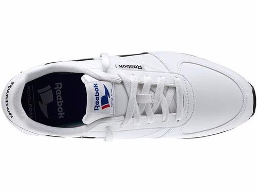 5b3bb6d5e87 Tênis Reebok Royal Cl Jogger Syn Retro Lifestyle Branco Low. - R ...