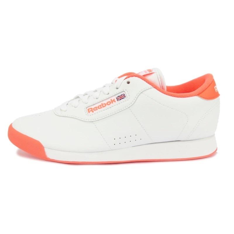 838bbdd9633 tênis reebook classics feminino princess branco laranja. Carregando zoom.