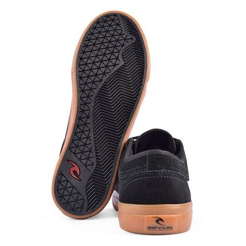 tênis rip curl the wedge - ref tck0042 - 38 - preto/marrom