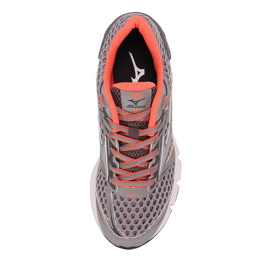 744754eef8 Tênis Running Feminino Mizuno Iron - Prata rosa - R  129