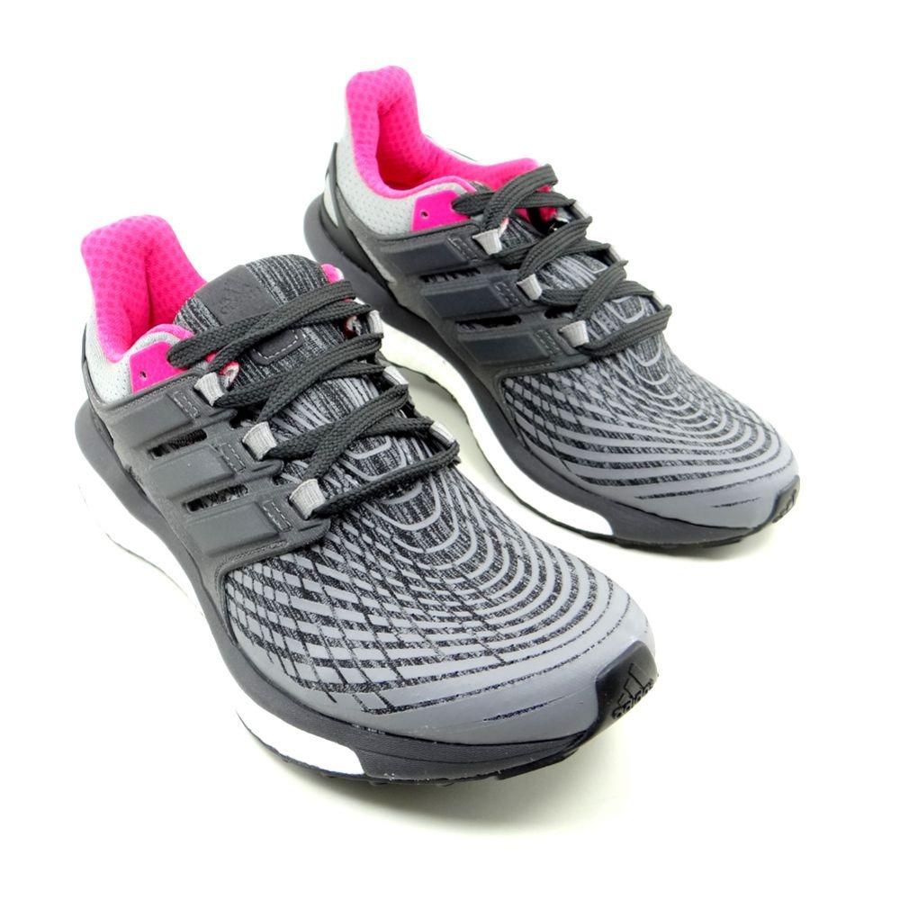 Carregando zoom... feminino adidas tênis running. Carregando zoom... tênis  running feminino adidas energy boost w cinza pink . 58a9b1d3ceea1
